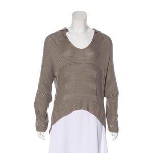 Kimberly Ovitz high-low knit sweater